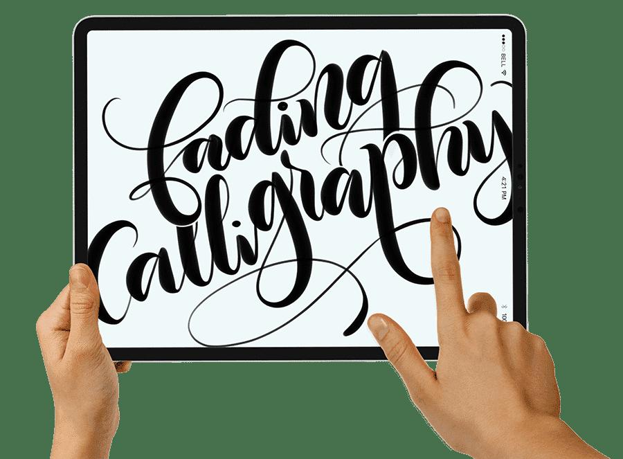 calligraphy brush calligraphy